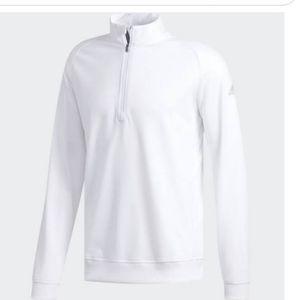 [Adidas] White Golf Sweatshirt